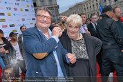 Amadeus - Red Carpet - Volkstheater - Di 06.05.2014 - Joesi PROKOPETZ, Steffanie WERGER156