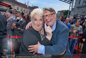 Amadeus - Red Carpet - Volkstheater - Di 06.05.2014 - Joesi PROKOPETZ, Steffanie WERGER160