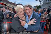 Amadeus - Red Carpet - Volkstheater - Di 06.05.2014 - Joesi PROKOPETZ, Steffanie WERGER164
