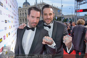 Amadeus - Red Carpet - Volkstheater - Di 06.05.2014 - The Boss HOSS178