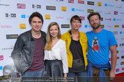 Amadeus - Red Carpet - Volkstheater - Di 06.05.2014 - Julian LE PLAY (Heidrich) mit Freundin Verena186