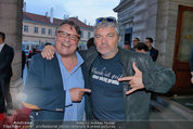 Amadeus - Red Carpet - Volkstheater - Di 06.05.2014 - Joesi PROKOPETZ, Werner BRIX193