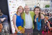 Amadeus - Red Carpet - Volkstheater - Di 06.05.2014 - Elisabeth HACKL, Mario ROSSORI70