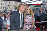 Amadeus - Red Carpet - Volkstheater - Di 06.05.2014 - SIMONE, Charly BRUNNER86