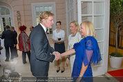 Fundraising Dinner - Albertina - Do 08.05.2014 - Klaus-Albrecht SCHR�DER, Ingrid FLICK, Elzunia STURM-BEDNARCZYK104