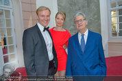 Fundraising Dinner - Albertina - Do 08.05.2014 - Klaus Albrecht SCHR�DER m. Freundin Nina LERCHNER, Franz GERTSC64
