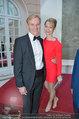 Fundraising Dinner - Albertina - Do 08.05.2014 - Klaus Albrecht SCHR�DER mit Freundin Nina LERCHNER65