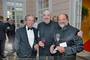 Fundraising Dinner - Albertina - Do 08.05.2014 - Friedrich STICKLER, Georg SPRINGER, Kurt RYDL97