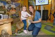 Milka Lila liebt Grün - Tirolergarten - Fr 09.05.2014 - Alex LIST mit Sohn Felix, Martina KAISER mit Tochter Kiana21