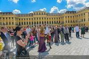 Foto Flashmob - Schloss Schönbrunn - Sa 10.05.2014 - 25