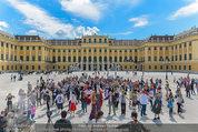 Foto Flashmob - Schloss Schönbrunn - Sa 10.05.2014 - 29