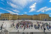 Foto Flashmob - Schloss Schönbrunn - Sa 10.05.2014 - 32
