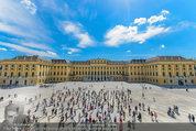 Foto Flashmob - Schloss Schönbrunn - Sa 10.05.2014 - 37
