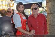 Conchita Wurst Collection - Vienna, Austria - So 11.05.2014 - Conchita WURST, Wolfgang AMBROS120