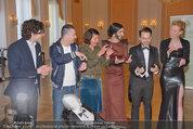 Conchita Wurst Collection - Vienna, Austria - So 11.05.2014 - Conchita WURST, Jacques PATRIAQUE, Manuel RUBEY, Babsi BANDIT52
