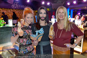 Conchita Wurst Collection - Vienna, Austria - So 11.05.2014 - Hilde DAHLIK, Conchita WURST, Claudia ST�CKL6