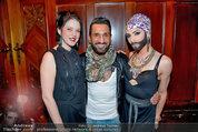 Conchita Wurst Collection - Vienna, Austria - So 11.05.2014 - Carmen KREUZER, Fadi MERZA, Conchita WURST74