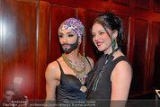 Conchita Wurst Collection - Vienna, Austria - So 11.05.2014 - Carmen KREUZER, Conchita WURST75