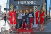 Red Shoes Day - Humanic Wien - Di 20.05.2014 - Jury mit Models35
