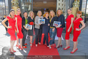 Red Shoes Day - Humanic Wien - Di 20.05.2014 - Jury mit Models37