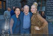 Gewista Plakatparty - Rathaus - Di 20.05.2014 - Karl BLECHA mit Rosi, Andrea BUDAY15