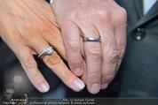 Gewista Plakatparty - Rathaus - Di 20.05.2014 - Karl JAVUREK mit Ehefrau Irmtraud (FORSTINGER) (Eheringe)25