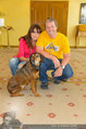 Hundeflüsterer Cesar Millan - Grand Hotel Wien - Do 22.05.2014 - Manfred und Nelly BAUMANN3