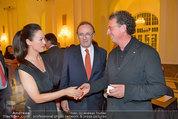 Trophee Gourmet - Hofburg - Do 22.05.2014 - Hans SCHMID mit Petra, Walter ESELB�CK11