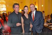 Trophee Gourmet - Hofburg - Do 22.05.2014 - Hans SCHMID mit Petra, Walter ESELB�CK13