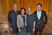 Trophee Gourmet - Hofburg - Do 22.05.2014 - Birgit und Heinz REITBAUER, Peter SIMONISCHEK, Brigitte KARNER37