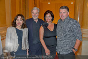 Trophee Gourmet - Hofburg - Do 22.05.2014 - Brigitte KARNER, Peter SIMONISCHEK, Jonnie BOER mit Therese40