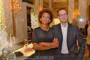 Lifeball Salon Imperial - Hotel Imerial - Mi 28.05.2014 - Arabella KIESBAUER, Florens EBLINGER14