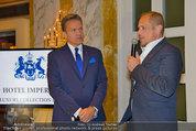 Lifeball Salon Imperial - Hotel Imerial - Mi 28.05.2014 - Alfons HAIDER, Gery KESZLER16