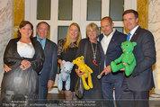 Lifeball Salon Imperial - Hotel Imerial - Mi 28.05.2014 - Gruppenfoto Jackie BRANFIELD, Gery KESZLER, Klaus CHRISTANDL5
