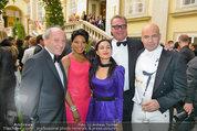 Lifeball Galadinner - Hofburg - Sa 31.05.2014 - Robert DORNHELM, Billy ZANE mit Schwester Lisa, Wolfgang FISCHER1