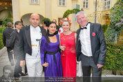 Lifeball Galadinner - Hofburg - Sa 31.05.2014 - Billy ZANE mit Schwester Lisa, Manuela und Ernst FISCHER50