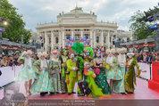 Lifeball Red Carpet (VIP) - Rathaus - Sa 31.05.2014 - Style Police1