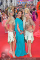 Lifeball Red Carpet (VIP) - Rathaus - Sa 31.05.2014 - Yvonne RUEFF mit Birgit, Atousa MASTAN31