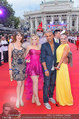 Lifeball Red Carpet (VIP) - Rathaus - Sa 31.05.2014 - Amina DAGI, Missy MAY, Fadi MERZA mit Ehefrau Ines42