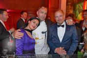 Lifeball Party (VIP) - Rathaus - Sa 31.05.2014 - Billy ZANE mit Schwester Lisa, Gery KESZLER14