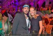 Lifeball Party (VIP) - Rathaus - Sa 31.05.2014 - Alexandra SWAROVSKI, Andreas KRONTHALER3