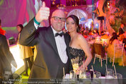 Lifeball Party (VIP) - Rathaus - Sa 31.05.2014 - DJ �TZI Gerry FRIEDLE mit Ehefrau Sonja44