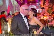 Lifeball Party (VIP) - Rathaus - Sa 31.05.2014 - DJ �TZI Gerry FRIEDLE mit Ehefrau Sonja (Kussfoto)46