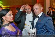Lifeball Party (VIP) - Rathaus - Sa 31.05.2014 - Billy ZANE mit Schwester Lisa, Gery KESZLER66