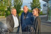 Buchpräsentation ´L.A. Stories´ - BMW Wien - Di 03.06.2014 - Peter RAPP, Klaus WILDBOLZ mit Freundin Nadine VON V�HREN15