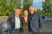 Buchpräsentation ´L.A. Stories´ - BMW Wien - Di 03.06.2014 - Peter RAPP, Klaus WILDBOLZ mit Freundin Nadine VON V�HREN18