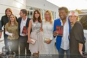 Buchpräsentation ´L.A. Stories´ - BMW Wien - Di 03.06.2014 - Gruppenfoto BAUMANN, BLANCO, BIEDERMANN34