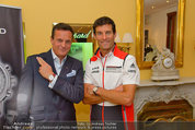 Mark Webber - Chopard - Do 05.06.2014 - Mark WEBBER, Thomas KOBLM�LLER2