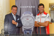 Mark Webber - Chopard - Do 05.06.2014 - Mark WEBBER, Thomas KOBLM�LLER5