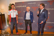 Mark Webber - Chopard - Do 05.06.2014 - Mark WEBBER, Thomas KOBLM�LLER, Helmut ZWICKL98